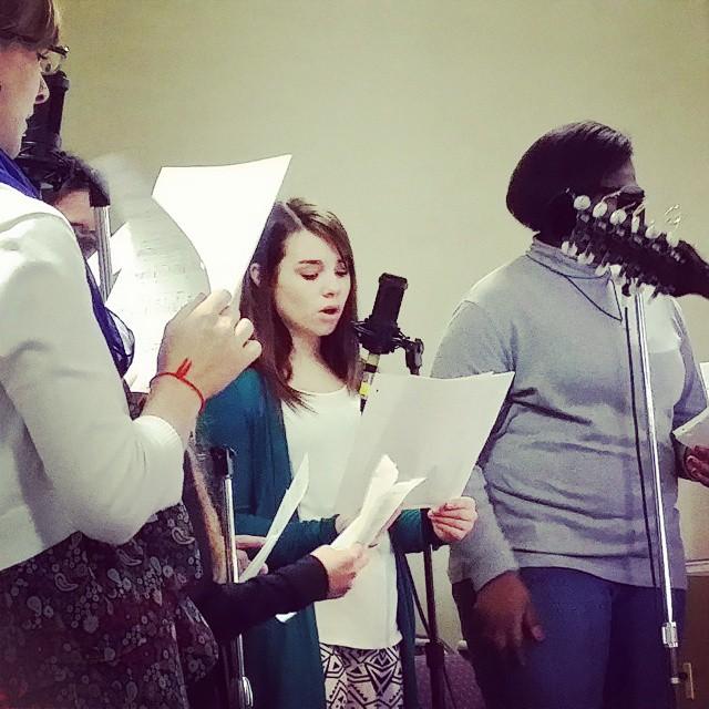 Getting my choir on this morning. WhatILoveAboutSundays choir church