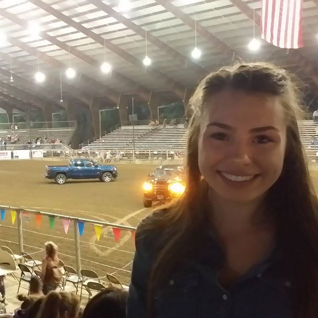 About to sing to that big flag behind me at the Leesville rodeo tonight!  #idontkneel